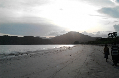 Beachfront land for sale in Sumbawa