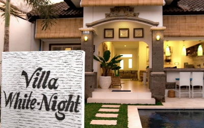 photo: Villa white night for rent (lease) in Kerobokan, Bali