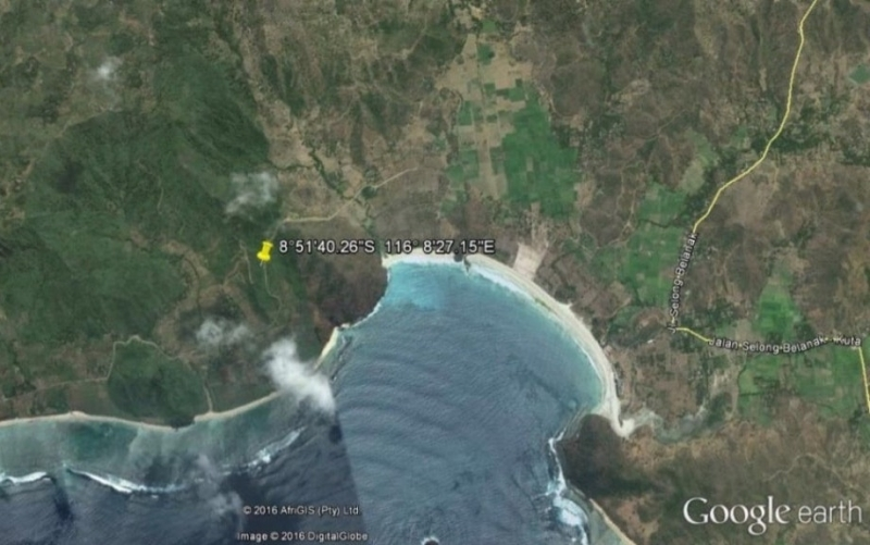 photo: 129-are freehold land for sale in Pantai Bumbang, Lombok